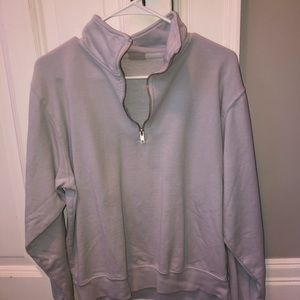 Quarter zip from John Galt/brandy Melville